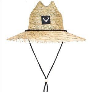 Women's roxy tomboy raw edge straw hat 🌻
